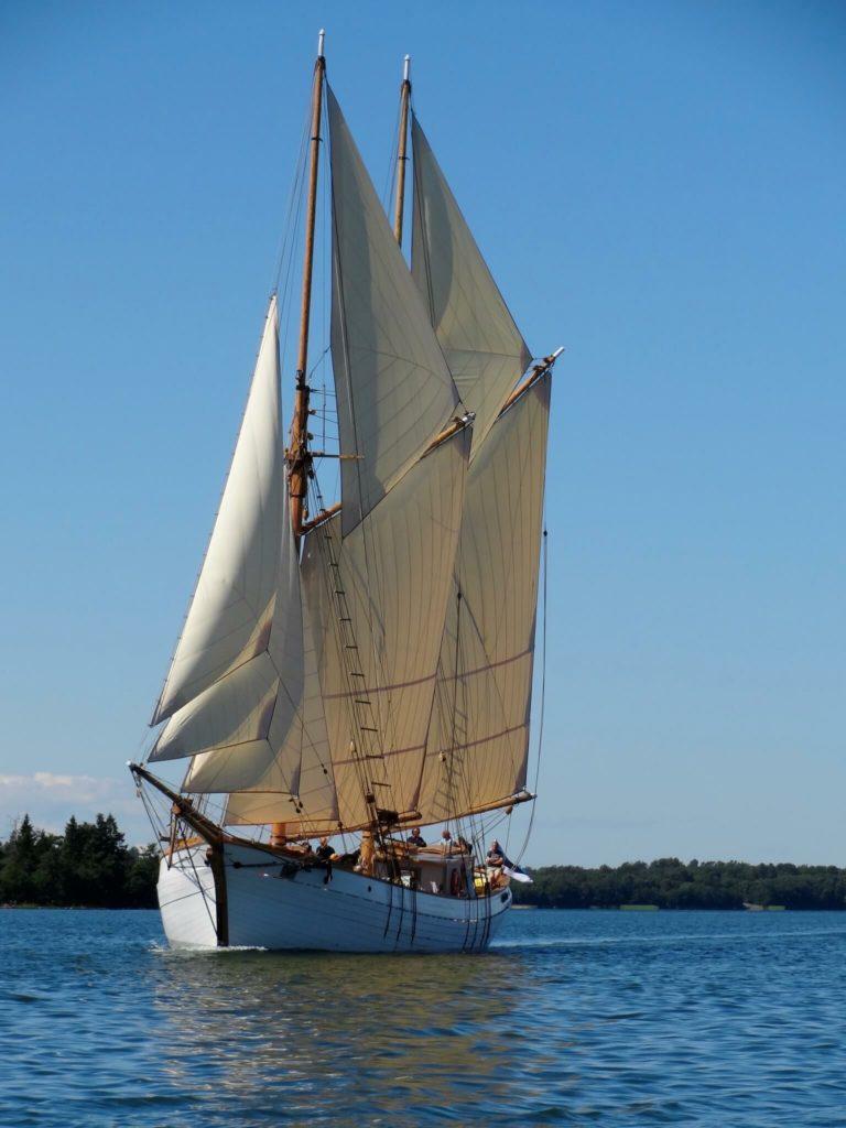 Sailing cruise on Hoppet